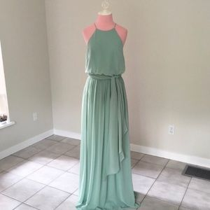 Anthropologie BHLDN Donna Morgan Alan Dress EUC.